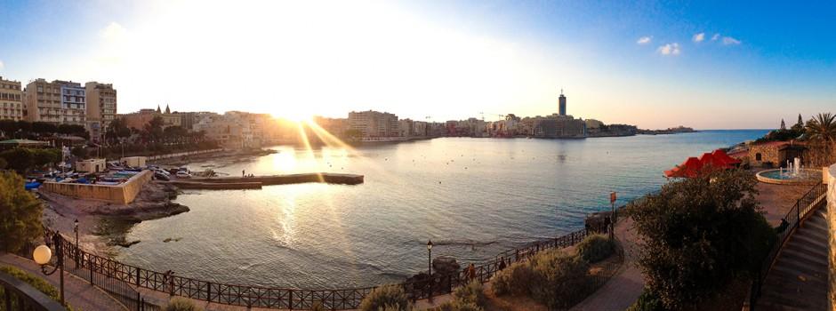 solnedgång malta